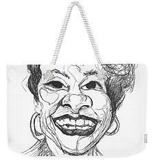 Annette Caricature Weekender Tote Bag
