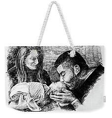 Annie Alexis And Nicolas Weekender Tote Bag