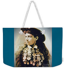 Annie Oakley - Shooting Legend Weekender Tote Bag
