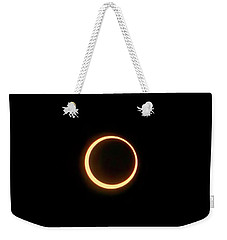Annular Solar Eclipse May 12 2012 Weekender Tote Bag