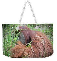 Weekender Tote Bag featuring the photograph Anonymity  by Judy Kay