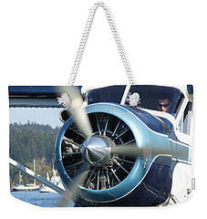 Weekender Tote Bag featuring the photograph Another Day At The Office by Mark Alan Perry