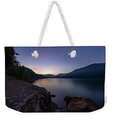 Another Day At Windy Bay Weekender Tote Bag