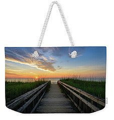Another Day On The Beach Weekender Tote Bag