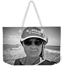 Another Fine Day Walk On The Island  Weekender Tote Bag