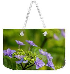 Another Floral Macro Weekender Tote Bag by Nick Boren