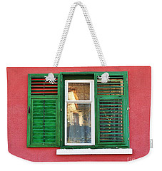 Another Green Shutter Weekender Tote Bag