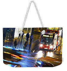 Weekender Tote Bag featuring the photograph Another Manic Monday by LemonArt Photography