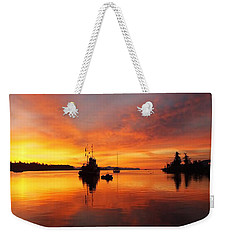 Another Morning Weekender Tote Bag by Mark Alan Perry