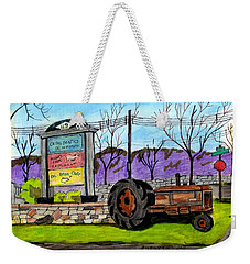 Another Old Tractor Weekender Tote Bag