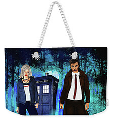 Another Unknown Adventure Weekender Tote Bag