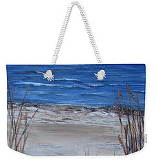 Another View Of East Point Beach Weekender Tote Bag