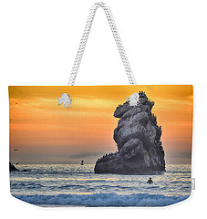 Another World Weekender Tote Bag by AJ Schibig