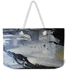 Weekender Tote Bag featuring the painting Another World by Mary Sullivan