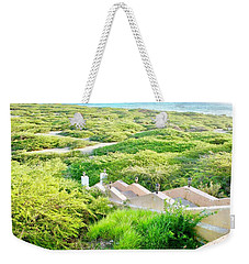 Weekender Tote Bag featuring the photograph Another World by Monique Faella