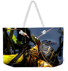 Ant Meets Turtle Weekender Tote Bag by Bob Orsillo