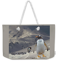 Antarctic Magesty Weekender Tote Bag