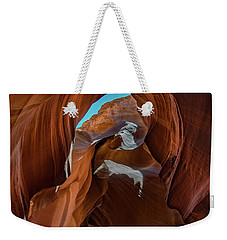 Antelope Canyon 16 Weekender Tote Bag by Phil Abrams