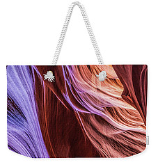 Antelope Canyon Air Glow Weekender Tote Bag
