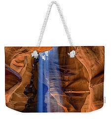 Antelope Canyon Blues Weekender Tote Bag by Phil Abrams