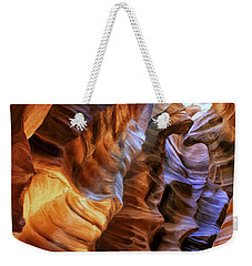 Antelope Canyon Weekender Tote Bag by Dominic Piperata