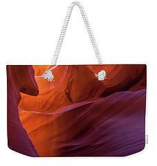 Antelope Canyon Fire Weekender Tote Bag