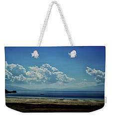 Antelope Island, Utah Weekender Tote Bag by Cynthia Powell