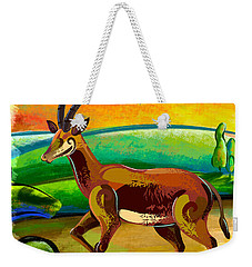 Antelope Of The Valley Weekender Tote Bag