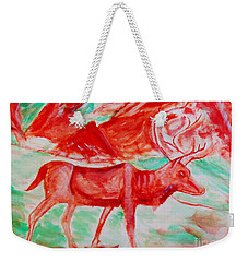 Antelope Save Weekender Tote Bag