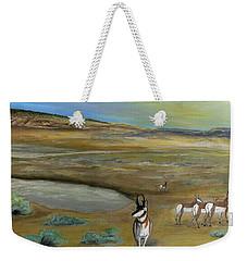 Antelopes Weekender Tote Bag