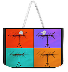 Antenna Pop 1 Weekender Tote Bag