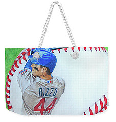 Anthony Rizzo 2016 Weekender Tote Bag