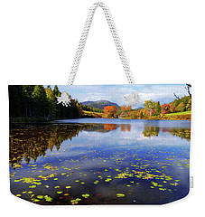 Weekender Tote Bag featuring the photograph Anticipation by Chad Dutson