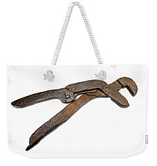 Antique Adjustable Plier Weekender Tote Bag