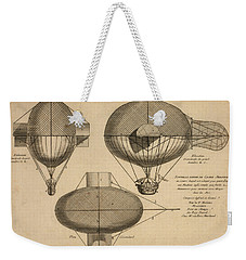 Antique Aeronautics Weekender Tote Bag