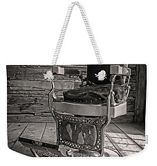 Antique Barber Chair Weekender Tote Bag