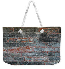 Weekender Tote Bag featuring the photograph Antique Brick Wall by Elena Elisseeva