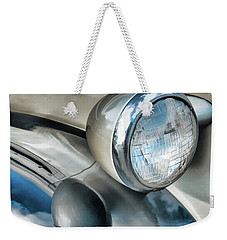 Antique Car Headlight And Reflections Weekender Tote Bag