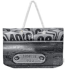 Weekender Tote Bag featuring the photograph Antique Cash Register 2 by James Aiken