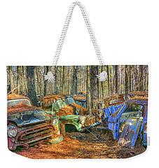 Antique Trucks Weekender Tote Bag