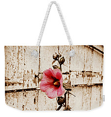 Antique Flower Weekender Tote Bag