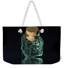 Antique Glass Bottle Weekender Tote Bag by David French