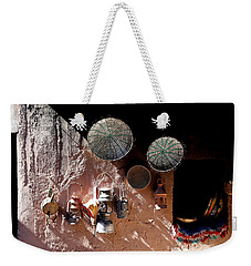 Weekender Tote Bag featuring the photograph Antique Lanterns by Andrew Fare