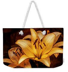 Antique Lilies Weekender Tote Bag