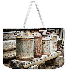 Antique Milk Cans Weekender Tote Bag