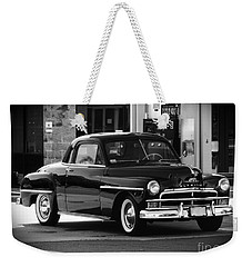 Antique Plymouth Coupe Weekender Tote Bag
