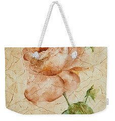 Antique Rose Weekender Tote Bag