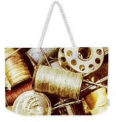 Antique Sewing Artwork Weekender Tote Bag