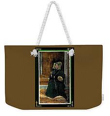Antique Tibetan Lama Weekender Tote Bag by Peter Gumaer Ogden