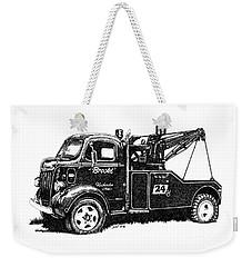 Antique Tow Truck Weekender Tote Bag